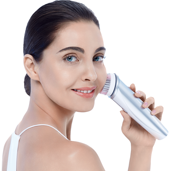 Zeitgard Cleansing Brush is first step in anti aging skin care treatment